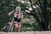 Lucinda Brand (NED/Sunweb)<br /> <br /> Women's Elite race<br /> <br /> UCI cyclocross World Cup Koksijde / Belgium 2017