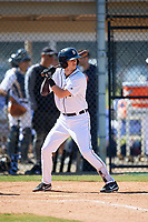 Detroit Tigers Cam Warner (67) during a Minor League Spring Training game against the Atlanta Braves on March 22, 2018 at the TigerTown Complex in Lakeland, Florida.  (Mike Janes/Four Seam Images)