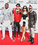 The Black Eyed Peas arrives at the 2010 BET Awards at the Shrine Auditorium in Los Angeles, California on June 27,2010                                                                               © 2010 Hollywood Press Agency