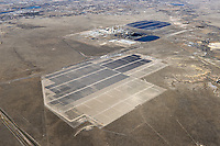 Solar power plant.  Sun Edison project south of Pueblo, Colorado
