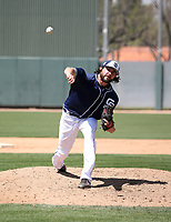 Chris Huffman - San Diego Padres 2019 spring training (Bill Mitchell)