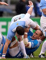 Sergio Parisse Italia<br /> Roma 23-11-2013, Stadio Olimpico. Cariparma Rugby Test Match - Italia vs Argentina - Foto Antonietta BaldassarreInsidefoto