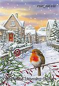 Marcello, CHRISTMAS SYMBOLS, WEIHNACHTEN SYMBOLE, NAVIDAD SÍMBOLOS, paintings+++++,ITMCXM1442,#xx# #L#,landscape,red robbin