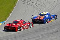 #10 SunTrust Pontiac/Riley leads the #99 GAINSCO/Bob Stallings Racing Pontiac/Riley of Jon Fogarty & Alex Gurney