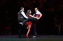Argentina's classic tango production TANGUERA returns to Sadler's Wells, as part of a European tour. Picture shows: Dabel Zanabria, Melody Celatti, Esteban Domenichini