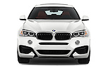 Car photography straight front view of a 2018 BMW X6 sDrive35i 5 Door SUV Front View