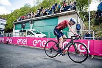 Dan Martin (IRE/Israel Start-Up Nation) finishing 6th up the Alpe di Mera (1560m)<br /> <br /> 104th Giro d'Italia 2021 (2.UWT)<br /> Stage 19 from Abbiategrasso to Alpe di Mera (Valsesia)(176km)<br /> <br /> ©kramon
