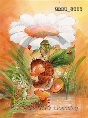 Ron, CUTE ANIMALS, Quacker, paintings, br duck, marguerites(GBSG8093,#AC#) Enten, patos, illustrations, pinturas