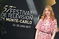 ODILE VUILLEMIN - Photocall - 57ème Festival de la Television de Monte-Carlo. Monte-Carlo, Monaco, 19/06/2017. # 57EME FESTIVAL DE LA TELEVISION DE MONTE-CARLO - PHOTOCALL ODILE VUILLEMIN