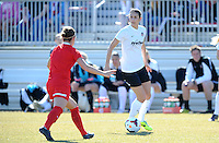 Boyds, Maryland - March 15, 2014. Yael Averbuch of the Washington Spirit. The Washington Spirit during the Meet the Team at the Maryland SoccerPlex.