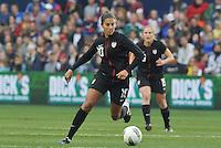 USWNT midfielder Carli Lloyd in action.