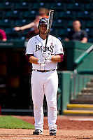 Brock Chaffin (25) of the Missouri State Bears stands in the batters box during a game against the Evansville Purple Aces at Hammons Field on May 12, 2012 in Springfield, Missouri. (David Welker/Four Seam Images)