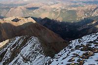 Castle Peak summit shadow
