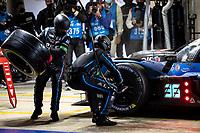 #36 Alpine Elf Matmut Alpine A480 - Gibson Hypercar, André Negrão, Nicolas Lapierre, Matthieu Vaxiviere, 24 Hours of Le Mans , Race, Circuit des 24 Heures, Le Mans, Pays da Loire, France