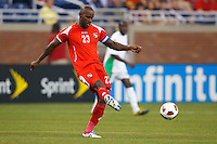 Panama defender Felipe Baloy (23) during the CONCACAF soccer match between Panama and Guadeloupe at Ford Field Detroit, Michigan.
