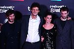 Premiere in Barcelona: ¿Quien mato a Bambi?<br /> Quim Gutierrez, Enrico Vecchi, Clara Lago & Julian Villagran.