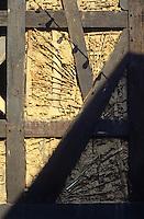 Limberg: Fachwerk restoration. Photo '87.