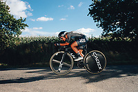 6th October 2021 Womens Cycling Tour, Stage 3. Individual Time Trial; Atherstone to Atherstone. Sofia Bertizzolo.