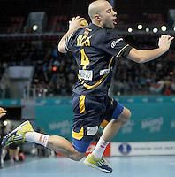 Spain's Albert Rocas during 23rd Men's Handball World Championship preliminary round match.January 15,2013. (ALTERPHOTOS/Acero) /NortePhoto