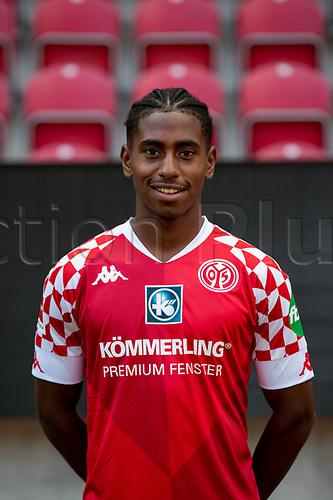 16th August 2020, Rheinland-Pfalz - Mainz, Germany: Official media day for FSC Mainz players and staff; Leandro Barreiro Martins FSV Mainz 05