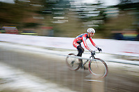 Jeremy Powers (USA)<br /> <br /> Elite Men's race<br /> <br /> 2015 UCI World Championships Cyclocross <br /> Tabor, Czech Republic