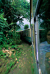 Train to Shimla, Himachal Pradesh, India, August 2001.