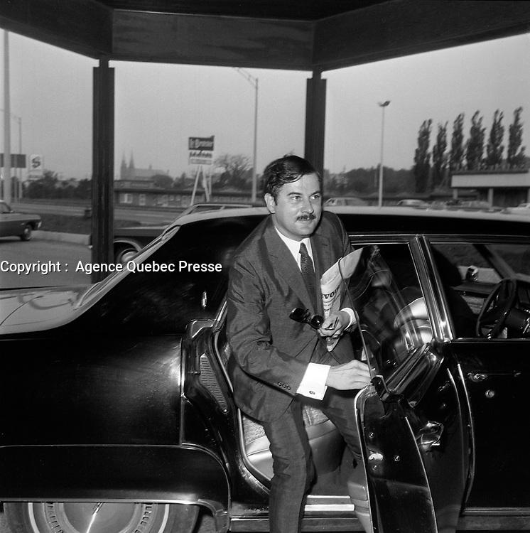 Jean-Guy Cardinal, Entre le 14 et le 20 juillet 1969<br /> <br /> Photo : Photo Moderne -  © Agence Quebec Presse