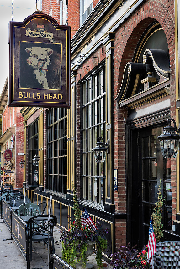 Bull's Head Tavern, Lititz, Pennsylvania, USA