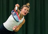 Wateringen, The Netherlands, November 27 2019, De Rhijenhof , NOJK 12 and16 years, Marente Sijbersma (NED)<br /> Photo: www.tennisimages.com/Henk Koster
