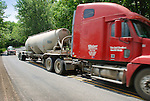 Natural Gas Drilling tanker truck. Lycoming County, Pennsylvania..........................................