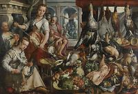 The Well-stocked Kitchen, Joachim Bueckelaer, 1566