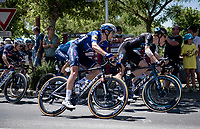 Nils Eekhoff (NED/DSM)<br /> <br /> Stage 13 from Nîmes to Carcassonne (220km)<br /> 108th Tour de France 2021 (2.UWT)<br /> <br /> ©kramon