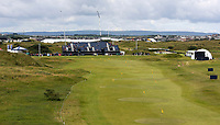 190719 | The 148th Open - Day 2<br /> <br /> The practice range during the 148th Open Championship at Royal Portrush Golf Club, County Antrim, Northern Ireland. Photo by John Dickson - DICKSONDIGITAL