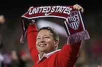 USA fan, Panama vs USA, World Cup qualifier at RFK Stadium, 2004.