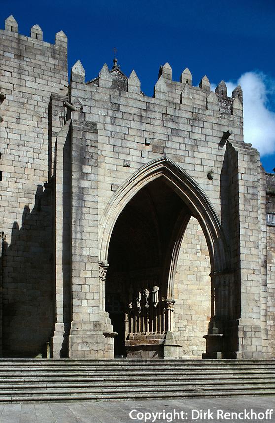 Kathedrale, Tui (Túy), Galicien, Spanien