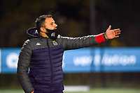 Head Coach Tiziano Rutilo (Charleroi) pictured during a female soccer game between Sporting Charleroi and Eendracht Aalst on the 8th  matchday of the 2020 - 2021 season of Belgian Scooore Womens Super League , friday 20 th of November 2020  in Marcinelle , Belgium . PHOTO SPORTPIX.BE | SPP | DAVID CATRY
