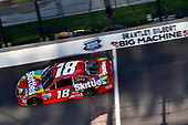 Monster Energy NASCAR Cup Series<br /> Brickyard 400<br /> Indianapolis Motor Speedway, Indianapolis, IN USA<br /> Sunday 23 July 2017<br /> Kyle Busch, Joe Gibbs Racing, Skittles Toyota Camry<br /> World Copyright: Nigel Kinrade<br /> LAT Images