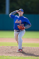 Trent Autry (33) of Chester High School in Chester, South Carolina playing for the New York Mets scout team at the South Atlantic Border Battle at Doak Field on November 2, 2014.  (Brian Westerholt/Four Seam Images)