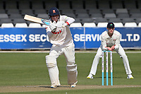 Michael Pepper in batting action for Essex during Essex CCC vs Lancashire CCC, Friendly Match Cricket at The Cloudfm County Ground on 25th March 2021