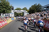 crossing the finish line<br /> <br /> Women Elite - Road Race (WC)<br /> from Antwerp to Leuven (158km)<br /> <br /> UCI Road World Championships - Flanders Belgium 2021<br /> <br /> ©kramon