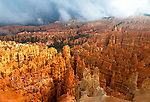 Rain Clouds, Wall Street,  Bryce Canyon National Park, Utah