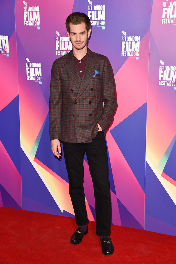 """Andrew Garfield<br /> at the photocall for the London Film Festival 2017 screening of """"Breathe"""" at the Mayfair Hotel, London<br /> <br /> <br /> ©Ash Knotek  D3317  04/10/2017"""