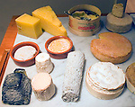 Interior, Cheese Assortment, La Famiglia Restaurant, Chelsea, London, Great Britain, Europe