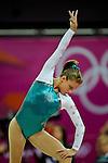 London 2012. Womens Individual All-Around  Finals 2.8.12  North Greenwich Arena . Dominique Pegg Canada