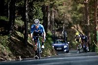 Miguel Ángel López (COL/Movistar) in the descent of the Col de Beixalis<br /> <br /> Stage 15 from Céret to Andorra la Vella (191km)<br /> 108th Tour de France 2021 (2.UWT)<br /> <br /> ©kramon
