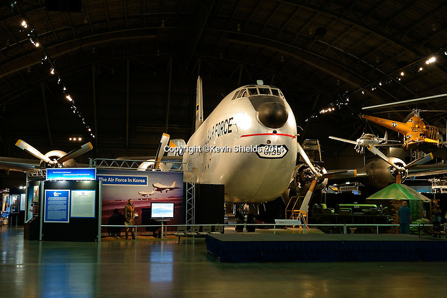 Douglas C-124 Globemaster on display at the National Museum of the United States Air Force, Dayton, Ohio, USA