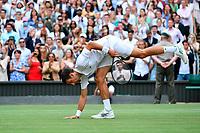 Novak Djokovic (Ser)<br /> London 11/07/2021 Wimbledon <br /> Tennis Grande Slam 2021<br /> Photo Antonie Couvercelle / Panoramic / Insidefoto <br /> ITALY ONLY