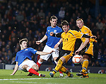 Andy Little hits the post with this shot