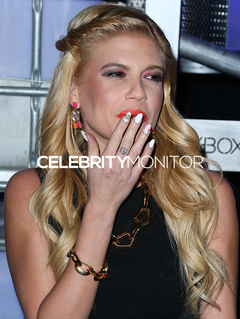 HOLLYWOOD, LOS ANGELES, CA, USA - NOVEMBER 10: Chanel West Coast arrives at the HaloFest - Halo: The Master Chief Collection Launch Event held at Avalon on November 10, 2014 in Hollywood, Los Angeles, California, United States. (Photo by Xavier Collin/Celebrity Monitor)