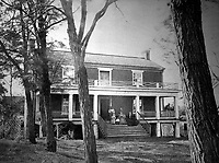 McLean's House, Appomattox Court-House.  Virginia, April 1865. Timothy O'Sullivan. (War Dept.)<br /> Exact Date Shot Unknown<br /> NARA FILE #: 165-SB-99<br /> WAR & CONFLICT BOOK #:  259